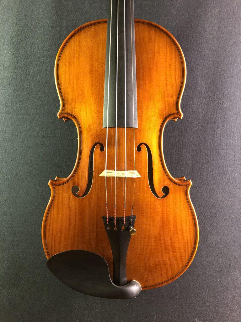 2019年製作ヴァイオリン2本目