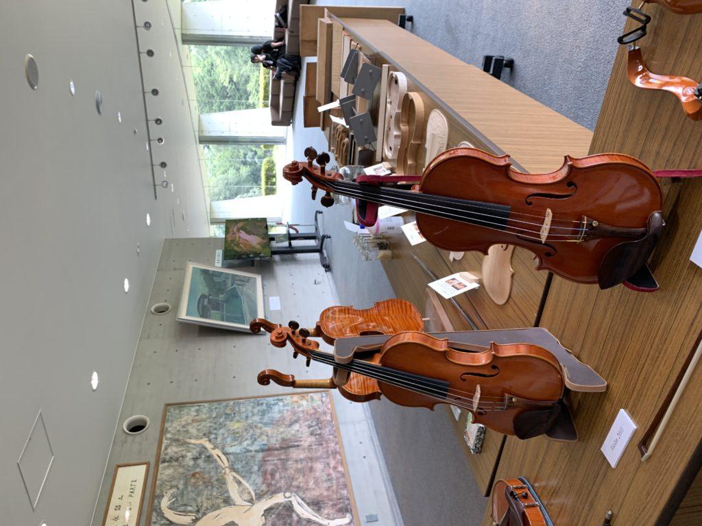 バイオリン展示