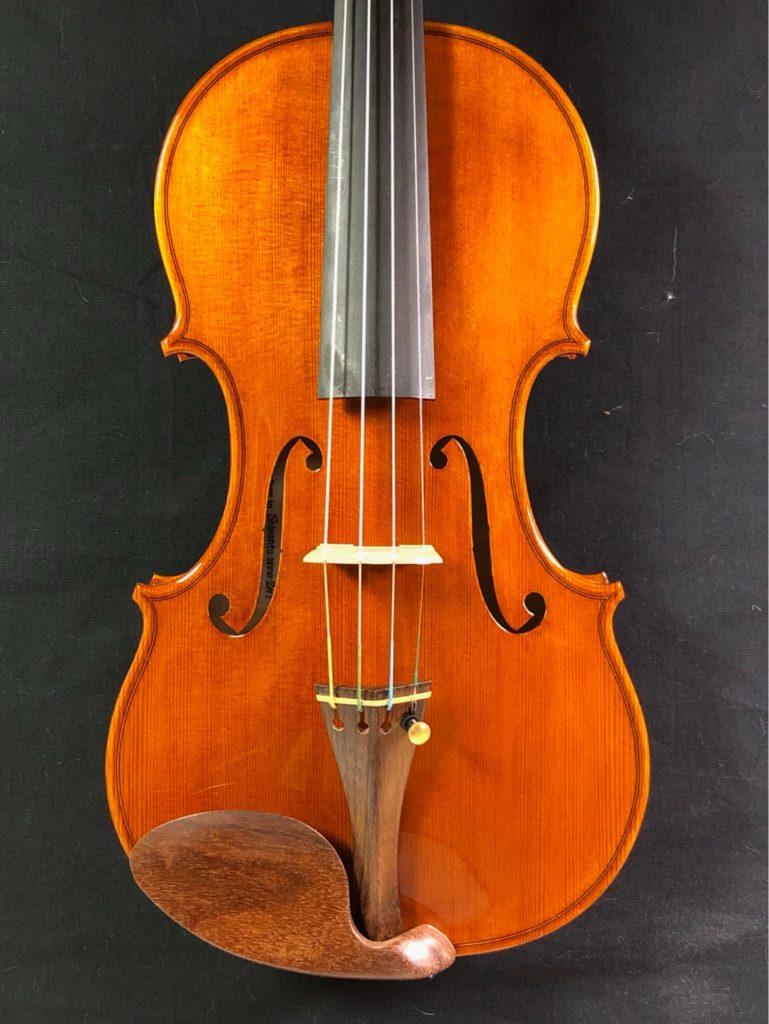 2019年製作ヴァイオリン6本目