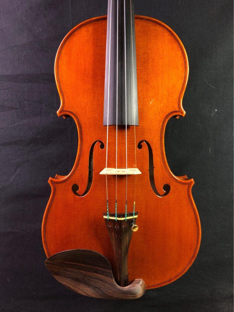 2019年製作ヴァイオリン4本目