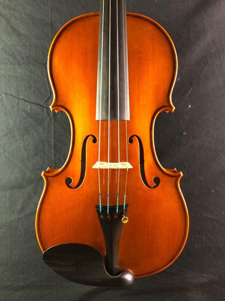 2019年製作ヴァイオリン5本目